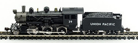 Model-Power 2-6-0 Mogul DCC Compatible Union Pacific N Scale Model Train Steam Locomotive #87616
