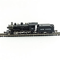 Model-Power 2-6-0 Mogul DCC/Sound New Haven N Scale Model Train Steam Locomotive #876171