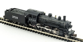 Model-Power 2-6-0 Mogul DC Illinois Central N Scale Model Train Steam Locomotive #87618