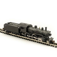 Model-Power N 4-4-0 American w/DCC & Sound, Undecorated