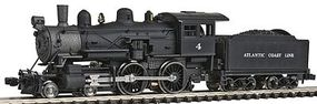 Model-Power 4-4-0 American Standard DC Atlantic Coast Line N Scale Model Train Steam Locomotive #87621