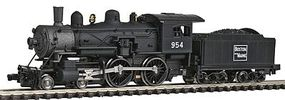 Model-Power 4-4-0 American Standard DC Boston & Maine N Scale Model Train Steam Locomotive #87622