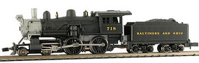 Model-Power 4-4-0 American DCC Compatible B&O N Scale Model Train Steam Locomotive #87623