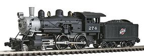 Model-Power Steam 4-4-0 American Chicago & North Western N Scale Model Train Steam Locomotive #87625