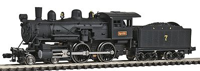 Model Power Steam 4-4-0 American Louisville & Nashville -- N Scale Model Train Steam Locomotive -- #87627