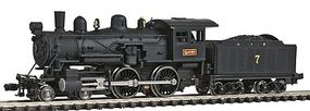 Model-Power Steam 4-4-0 American Louisville & Nashville N Scale Model Train Steam Locomotive #87627