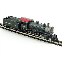 Model-Power 4-4-0 American PRR DCC with Sound N Scale Model Train Steam Locomotive #876311