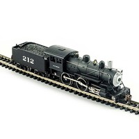 Model-Power Steam 4-4-0 American - Standard DC Santa Fe - N-Scale