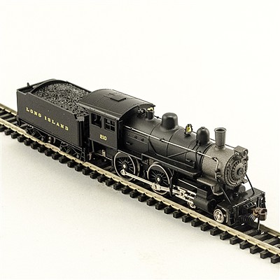 Model Power 4-4-0 Amer DCC/Sound LIRR -- N Scale Model Train Steam Locomotive -- #876371