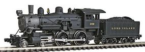 Model-Power Steam 4-4-0 American Long Island Railroad N Scale Model Train Steam Locomotive #87637