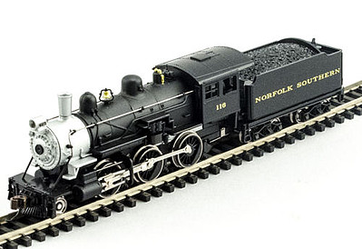 Model Power 2-6-0 Mogul NS DCC with Sound -- N Scale Model Train Steam Locomotive -- #876501