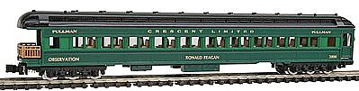 Model-Power Heavyweight Observation Southern N Scale Model Train Passenger Car #88634