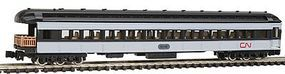 Model-Power Heavyweight Observation Canadian National N Scale Model Train Passenger Car #88635