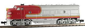 Model-Power EMD FP7 Phase II with Sound Santa Fe N Scale Model Train Diesel Locomotive #89440