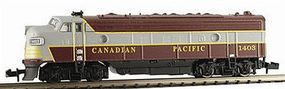 Model-Power EMD FP7 Phase I with Sound Canadian Pacific N Scale Model Train Diesel Locomotive #89442