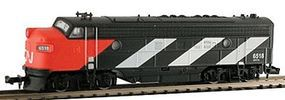 Model-Power EMD FP7 Phase II w/Sound - Canadian National N Scale Model Train Diesel Locomotive #89443