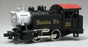 Model-Power 0-4-0 Loco Santa Fe HO Scale Model Train Steam Locomotive #96500