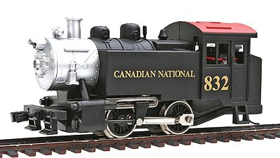 Model Power 0-4-0 Tank Switcher Canadian National -- HO Scale Model Train Steam Locomotive -- #96502