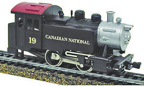 Model-Power 0-4-0 Tank Switcher DCC Canadian National HO Scale Model Train Steam Locomotive #965021