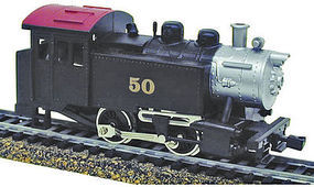 Model-Power 0-4-0 Tank Switcher DCC Numbered HO Scale Model Train Steam Locomotive #965031