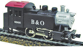 Model-Power 0-4-0 Tank Switcher DCC Baltimore & Ohio HO Scale Model Train Steam Locomotive #965051