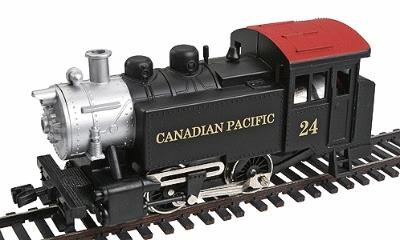 Model Power 0-4-0 Tank Switcher Canadian Pacific -- HO Scale Model Train Steam Locomotive -- #96507
