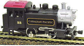 Model-Power 0-4-0 Tank Switcher DCC Canadian Pacfic HO Scale Model Train Steam Locomotive #965071