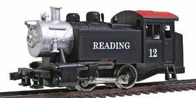 Model-Power 0-4-0 Tank Switcher Reading HO Scale Model Train Steam Locomotive #96508