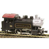 Model-Power 0-4-0 Tank Switcher DCC Chesapeake & Ohio HO Scale Model Train Steam Locomotive #965091