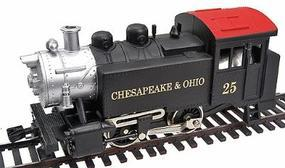 Model-Power Steam 0-4-0 Chesapeake & Ohio Tank Switcher HO Scale Model railroad Steam Locomotive #96509