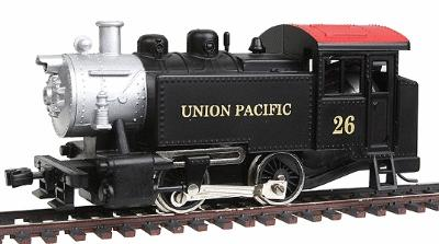 Model Power 0-4-0 Loco Union Pacific -- HO Scale Model Train Steam Locomotive -- #96510