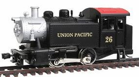 Model-Power 0-4-0 Loco Union Pacific HO Scale Model Train Steam Locomotive #96510