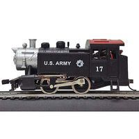 Model-Power 0-4-0 Tank Switcher DCC US Army HO Scale Model Train Steam Locomotive #965131