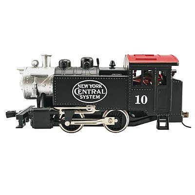 Model Power 0-4-0 Tank Switcher New York Central -- HO Scale Model Train Steam Locomotive -- #96515