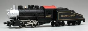 Model-Power 0-4-0 Shifter w/Tend PRR #6635 HO Scale Model Train Steam Locomotive #96635
