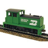 Model-Power DDT Plymouth DCC Burlington Northern HO Scale Model Train Diesel Locomotive #966691