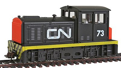 Model Power DDT Plymouth Industrial Canadian National -- HO Scale Model Train Diesel Locomotive -- #96673