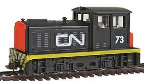 Model-Power DDT Plymouth Industrial Canadian National HO Scale Model Train Diesel Locomotive #96673