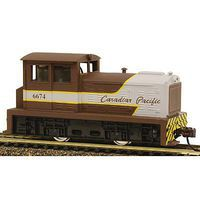 Model-Power DDT Plymouth DCC Canadian Pacific HO Scale Model Train Diesel Locomotive #966741