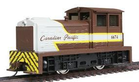 Model-Power Diesel DDT Plymouth Industrial Powered (Canadian Pacific) HO Scale Model Railroad #96674