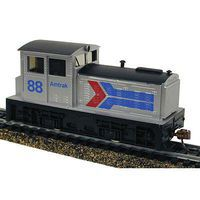 Model-Power DDT Plymouth DCC w/Sound/Remote Amtrak HO Scale Model Train Diesel Locomotive #966761