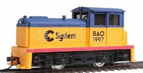 Model-Power DDT Plymouth Industrial Powered Chessie System HO Scale Model Train Diesel Locomotive #96678