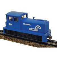 Model-Power DDT Plymouth Diesel Conrail Locomotive DCC HO Scale Model Railroad Locomotive #966791