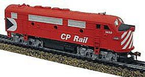 Model-Power F2-A Dual Drive Powered w/Light Canadian Pacific HO Scale Model Train Diesel Locomotive #96810