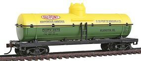 Model-Power Chemical Tank Dupont HO Scale Model Train Freight Car #96921