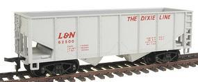 Model-Power 36 2-Bay Open Top Hopper Louisville & Nashville HO Scale Model Train Freight Car #98060