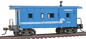 Model-Power 36' Bay Window Caboose Conrail HO-Scale