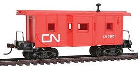 Model-Power 36' Bay Window Caboose Canadian National HO-Scale