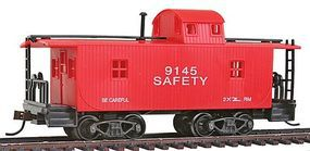 Model-Power 32' Wood Caboose Transfer HO-Scale