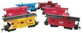 Model-Power Deluxe Heavy Weight Freight Car Assortment (24) HO Scale Model Train Freight Car Set #99653